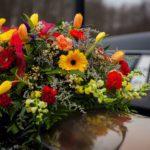 Funeral corona flores